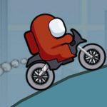 Among Us Motor Bike Challenge