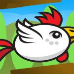 Angry Flappy Chicken Fly