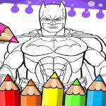 Batman Beyond Coloring Book
