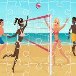 Beach Volley Ball Jigsaw