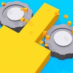 Color Saw Smasher 3D