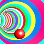 Color Tunnel Ball