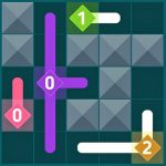 Cross Path Puzzle Game