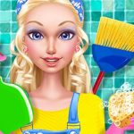 Fashion Doll House Cleaning