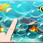 Floating bubbles – Blue Ball 4