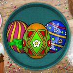 Handmade Easter Eggs Coloring Book