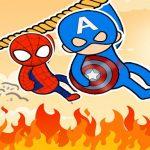 Hero Rescue: Rope Puzzle