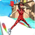 Ladybug Skating Rink Sky