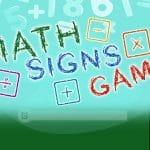 Math Signs Game