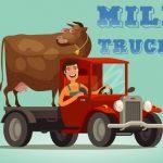 Milk Trucks Jigsaw