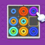 Neon Circles & Color Sort Puzzle