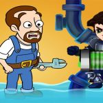 Plumber Water Pipes Hero Pipe Rescue: Water Puzzle