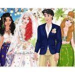 PRINCESS COACHELLA INSPIRED WEDDING