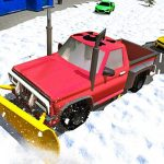 Snow Plow Jeep Simulator 3D