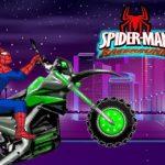Spiderman Moto Racer