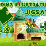 Spring Illustration Puzzle