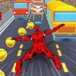 Subway Superhero Robot Endless Run