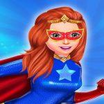 Super Power Hero Girls Runner Game Adventure