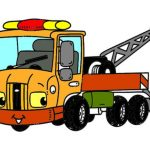 Tow Trucks Coloring