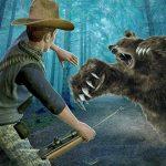 Wild Bear Hunting sniper shooting